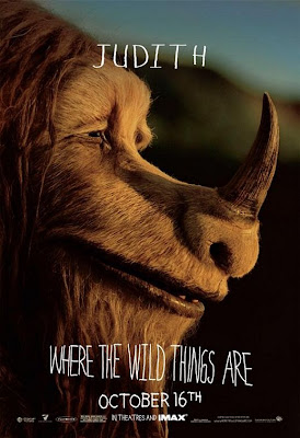 Judith Where The Wild Things Are poster