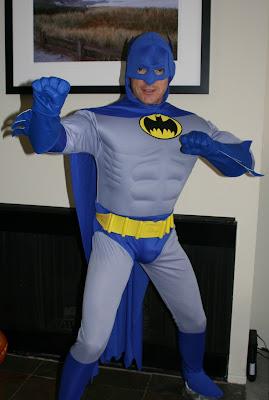 Classic Batman Halloween costume