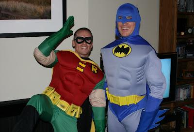 Robin & Batman costumes