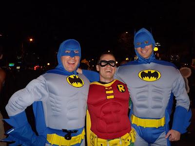 West Hollywood Halloween Batman Sandwich