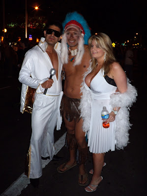 West Hollywood Halloween Carnaval Elvis and friends