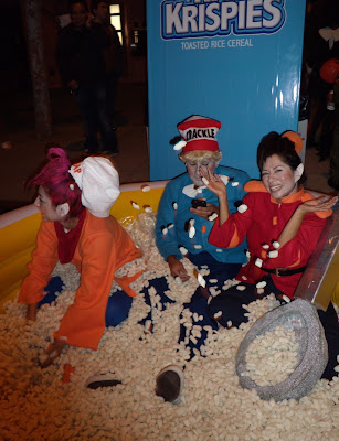 West Hollywood Halloween Carnaval 2009 Rice Krispies display