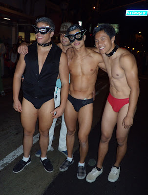 West Hollywood Halloween swimsuit guys 2009