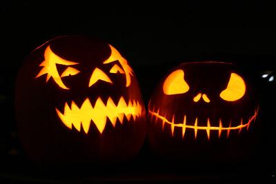 Spooky Halloween Jack O Lanterns