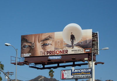 The Prisoner remake TV series billboard