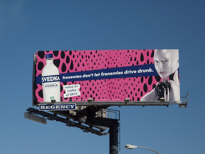Svedka Vodka billboard