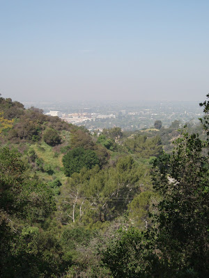 Burbank view from Griffith Park