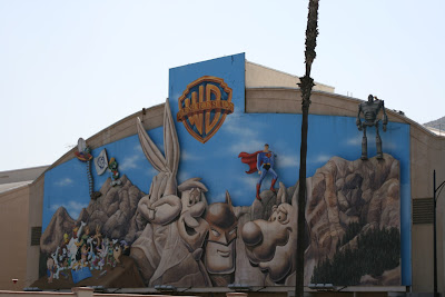 Warner Bros cartoon character wall mural