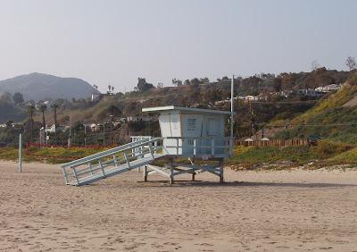 Classic lifeguard hut
