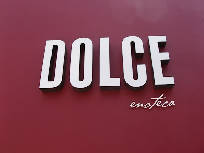 Dolce restaurant on Melrose