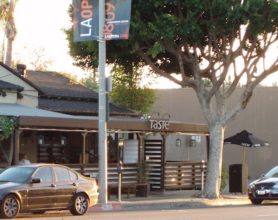 Taste restaurant on Melrose Avenue