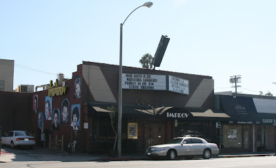 Comedy at the Hollywood Improv on Melrose Avenue