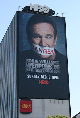 Robin Williams Weapons of Self Destruction billboard