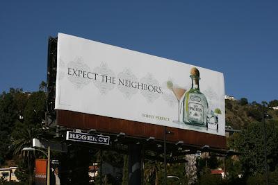 Silver Patron Tequila billboard