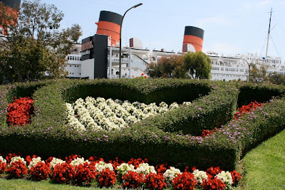 Queen Mary Seaport flowers