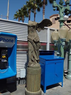 Winged Victory replica Disneyland