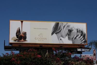 Godiva Chocolate billboard