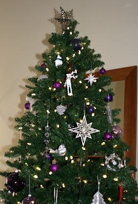 Festive Xmas tree