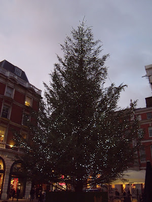 Covent Garden Christmas Tree 2009 London