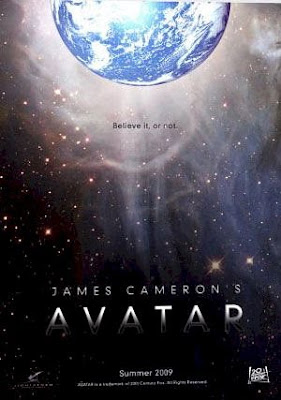 Avatar teaser movie poster