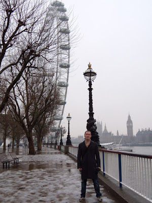 Jason by River Thames, London