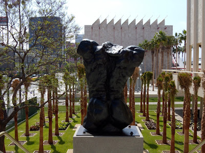 LACMA outdoor bronze sculpture garden