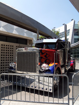 Optimus Prime truck from Transformers 2