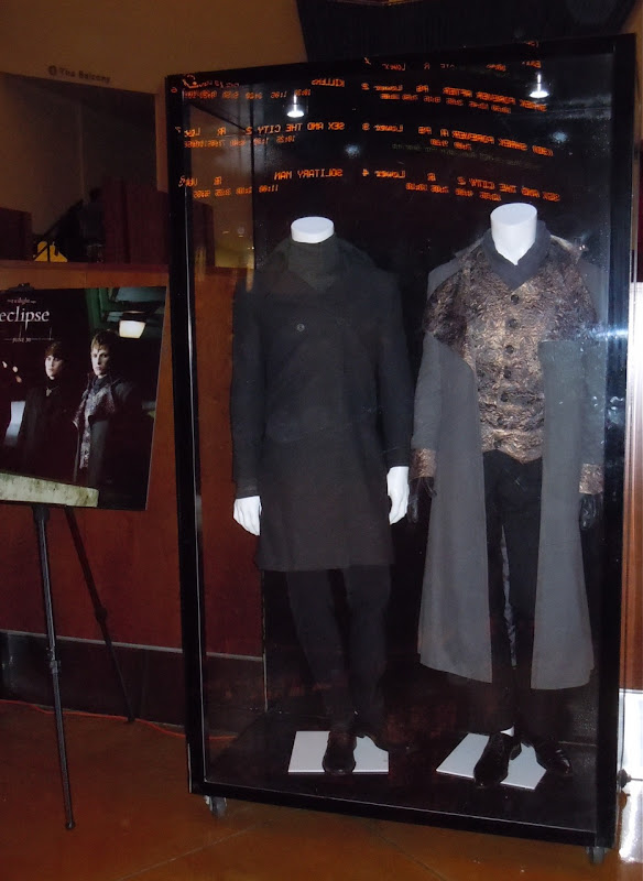 Twilight Eclipse Alec and Demetri Volturi costumes