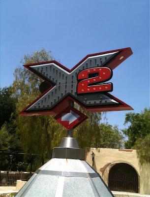 X2 ride Magic Mountain
