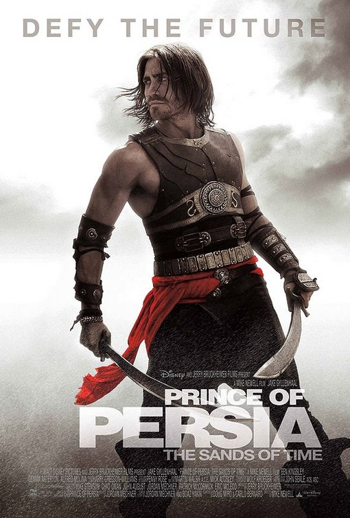 Jake Gyllenhaal Prince of Persia poster