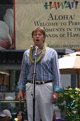 Rod Gilfry opera star from South Pacific Musical The Grove