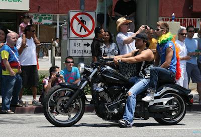 Gay bikers West Hollywood Pride 2010