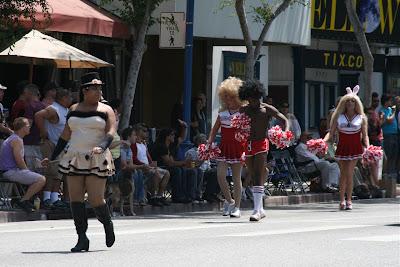 West Hollywood Pride cheerleaders 2010