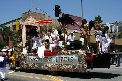 Transgender float Los Angeles Pride 2010