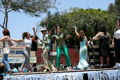 West Hollywood Pride disco float 2010