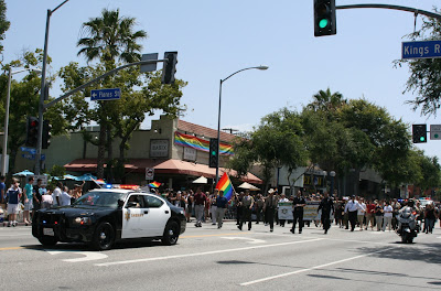Sheriff support West Hollywood Pride 2010