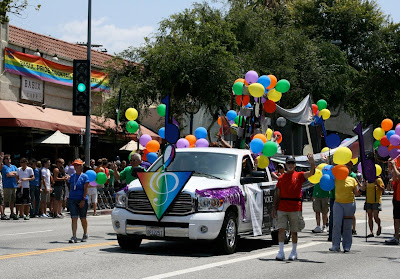 WEHO Gay singers Pride Parade 2010