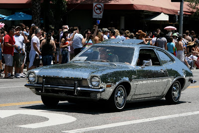 Mirrorball Ford Pinto WEHO Pride 2010