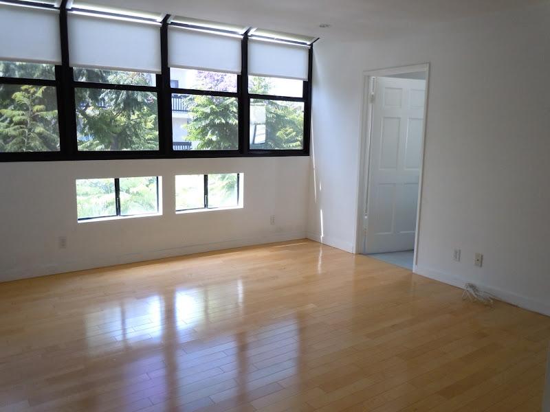 Empty West Hollywood condo bedroom