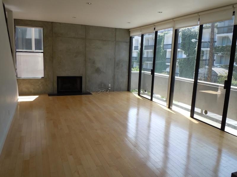 Empty West Hollywood condo