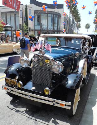 1931 Ford Model A Deluxe Phaeton