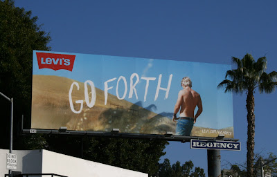 Levi Jeans Go Forth billboard