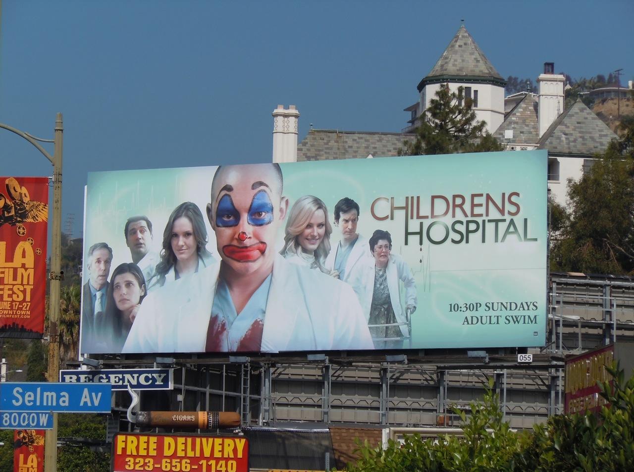 Childrens%2BHospital%2Badult%2Bswim%2Bbillboard Stank O Meter star Tiffani Amber Thiessens Big Belly Is Pregnant As Hell ...