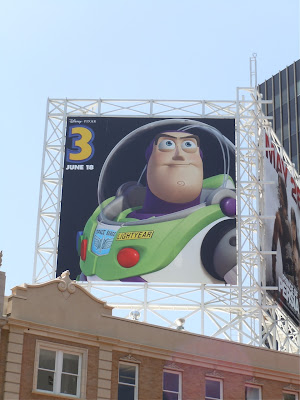 Buzz Lightyear Toy Story 3 billboard