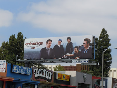 Entourage series 7 TV billboard