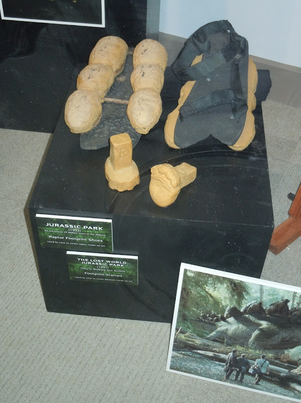 Jurassic Park Raptor footprint shoes
