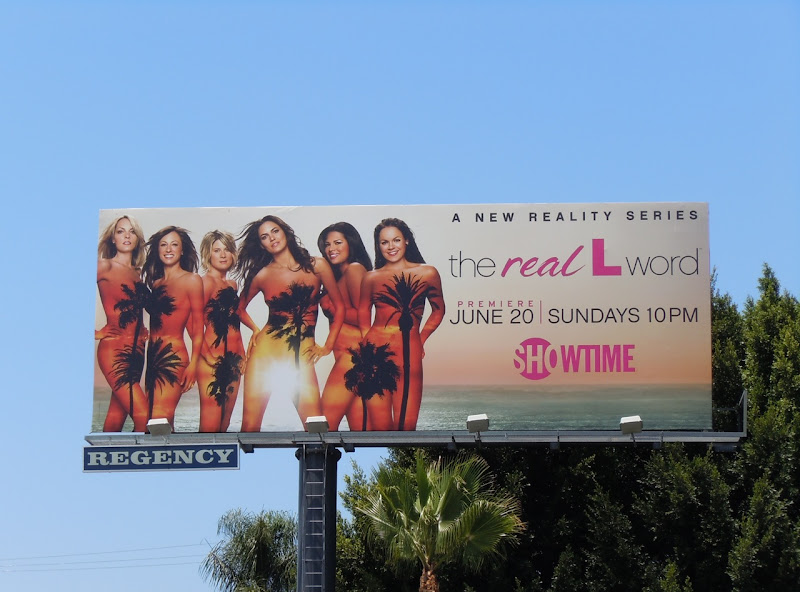 The Real L Word TV billboard