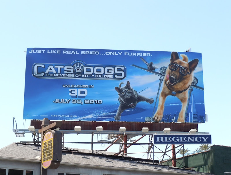 Cats and Dogs Kitty Galore billboard