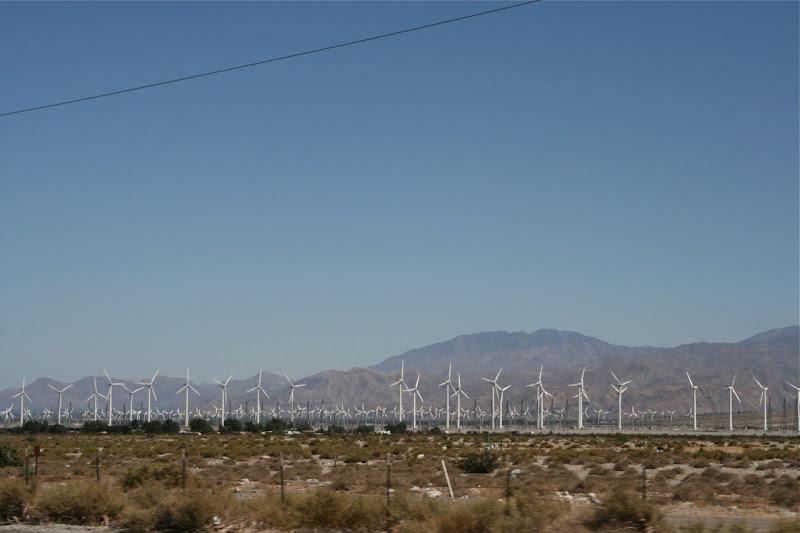 Wind farm Palm Springs