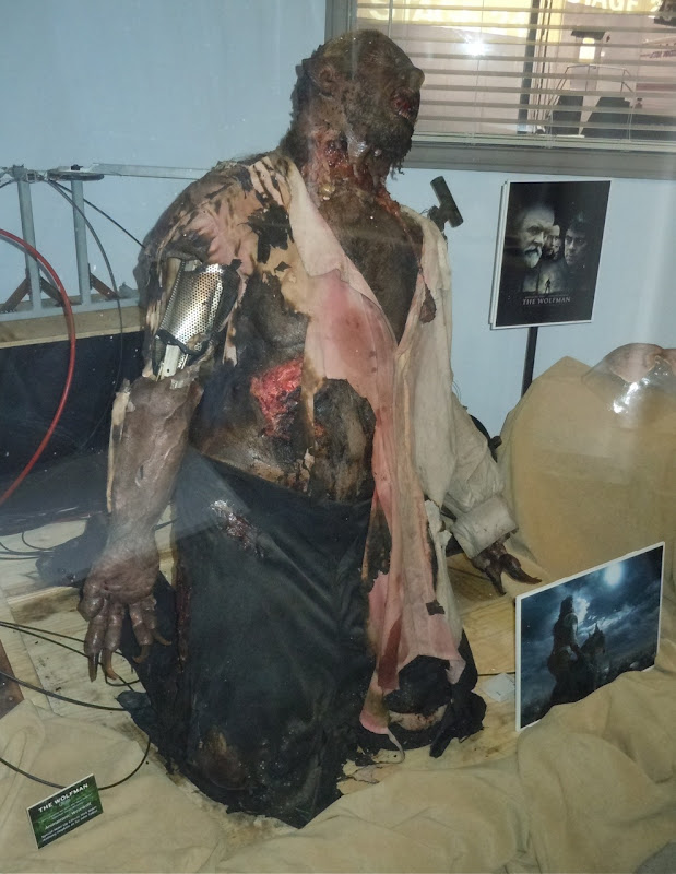 The Wolfman movie animatronic werewolf